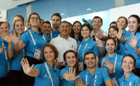 WorldSkills Kazan 2019 volunteers