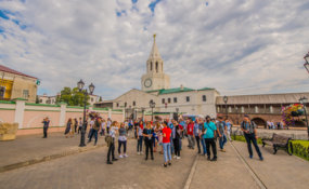 Tour around Kazan for WorldSkills 2019 delegates